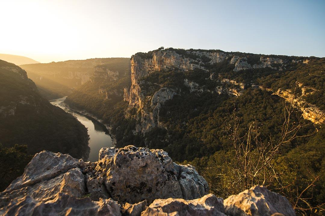 L'incontournable réserve Naturelle des Gorges de l'Ardèche