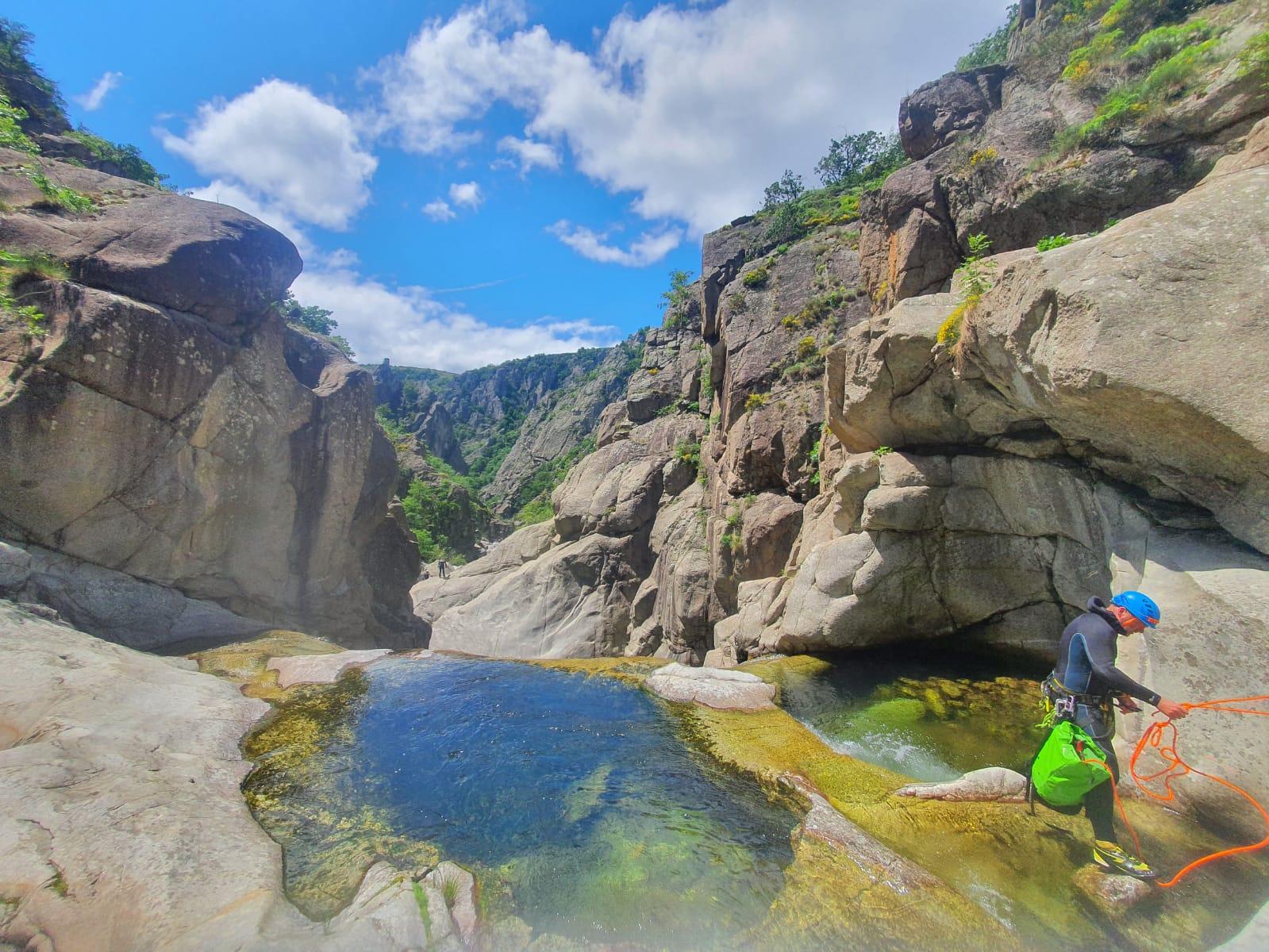 cascade du chassezac en Ardèche