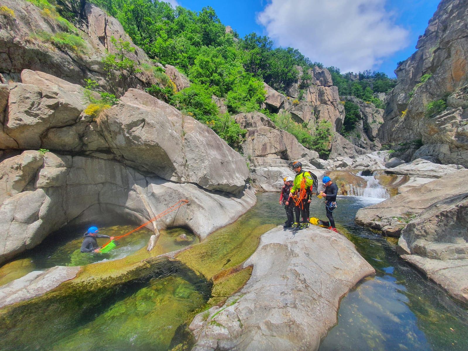 canyon Ardèche moniteur