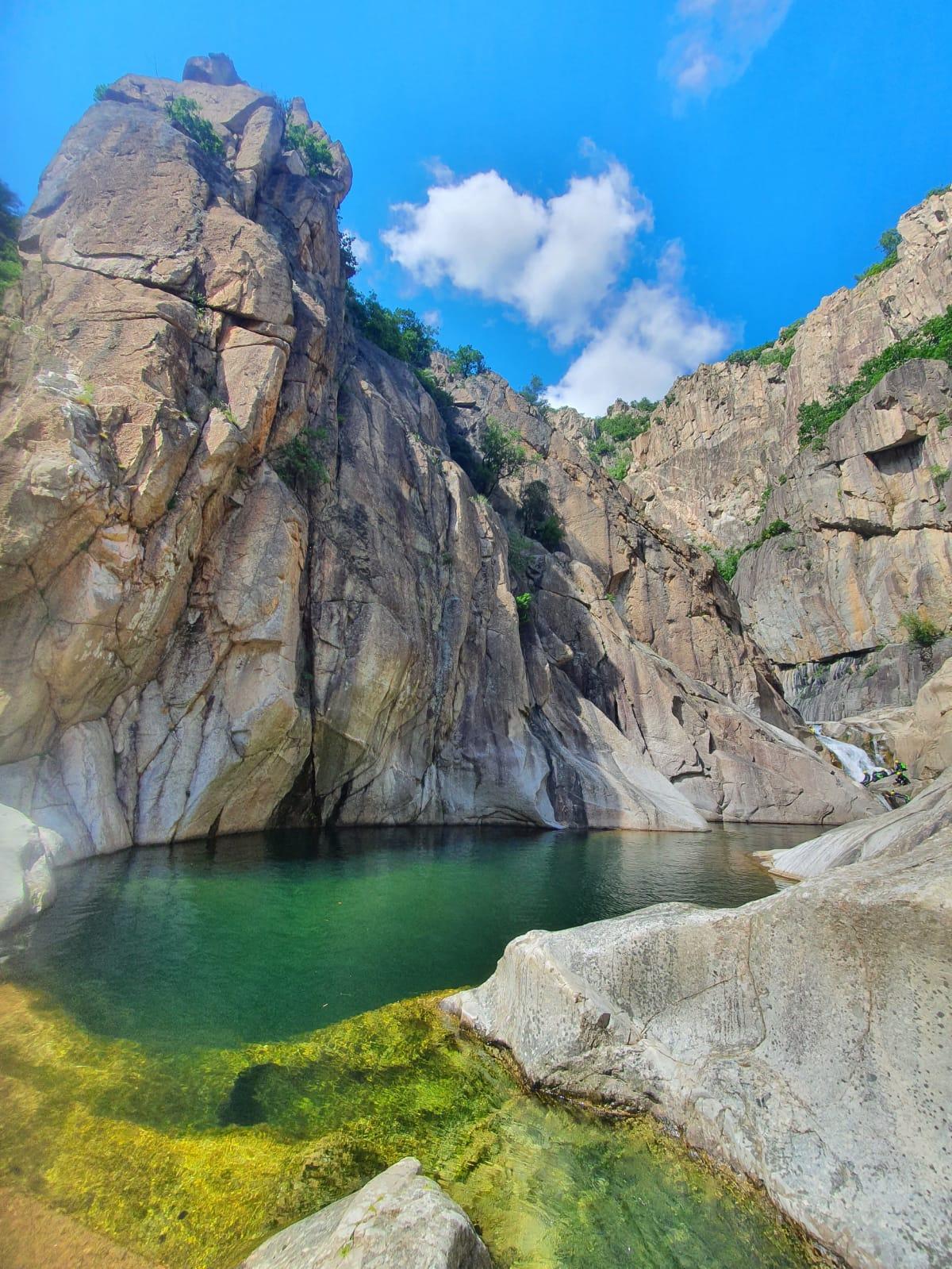 marmite canyon Chassezac Ardèche moniteur